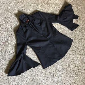 Jackets & Blazers - Bell Sleeved Blazer