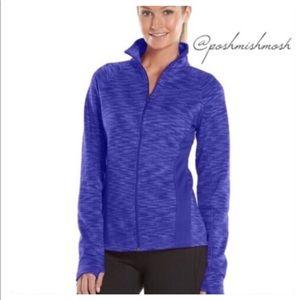 tek gear Jackets & Blazers - ❤ Purple Fleece Zip Up Jacket