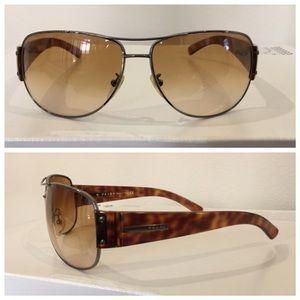 Prada Other - Authentic PRADA aviator sunglasses, unisex