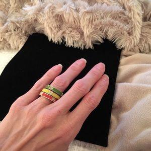 Towne & Reese Jewelry - NWOT. Towne & Reese Ring Bundle set of 3