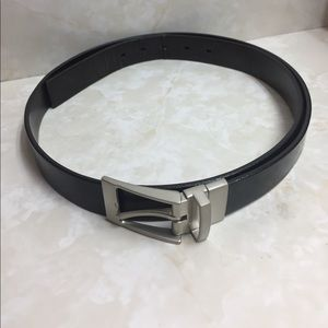 Perry Ellis Other - Perry Ellis Men's Italian Leather Black Belt. 44.