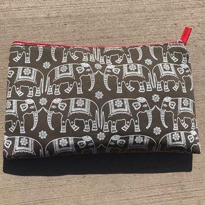 Handbags - Elephant Cosmetic Bag (NWOT)