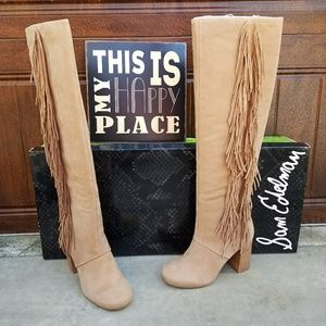 Sam Edelman Shoes - Gorgeous Tall Fringe Sam Edelman Boots
