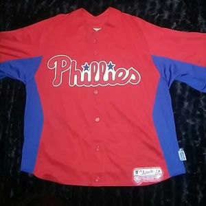 Authentic Original Vintage Style Other - Kids Authentic Phillies Jersey Shirt