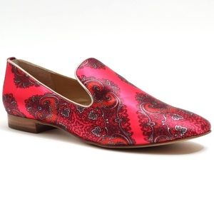 Solemate LOUISA paisley loafers