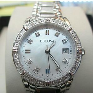 Brand new Bulova diamond ladies watch