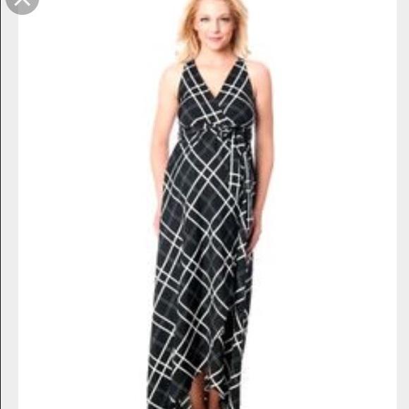 0d81660181bd6 Jessica Simpson Dresses | Maternity Plaid Maxi Dress | Poshmark