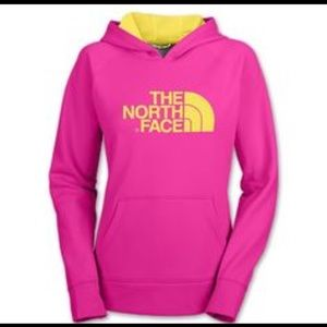 The North Face Tops - The North Face Women's Pink Hoodie Sweater Large