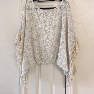 Vava by Joy Han Sweaters - Fringe poncho