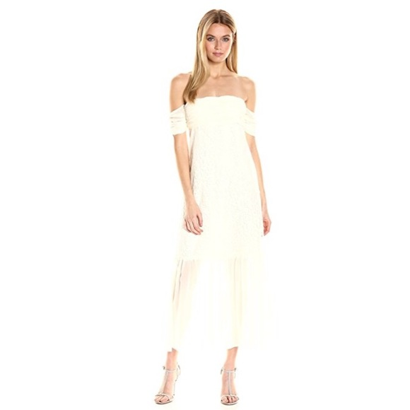 Rachel Zoe Dresses & Skirts - NWT Rachel Zoe Arlene off the shoulder lace dress