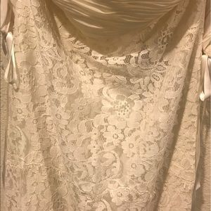 Rachel Zoe Dresses - NWT Rachel Zoe Arlene off the shoulder lace dress