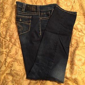 "Silver Jeans Denim - Silver Jeans ""Suki"" Skinny."
