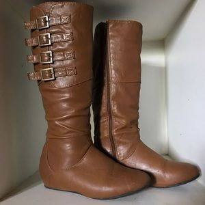Shoes - Buckle Up Boots