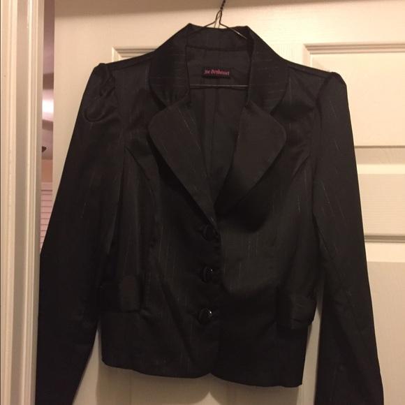 68% Off Jackets U0026 Blazers - Black Jacket With Stripes Very ...