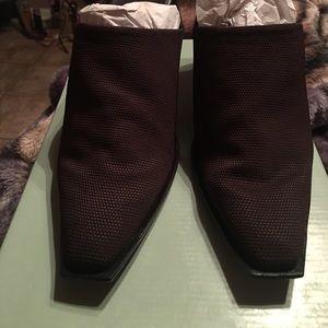 Giani Bernini Shoes - Gorgeous hot brown mules