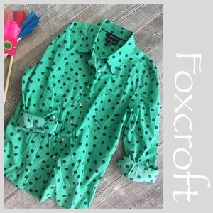 Foxcroft Tops - FOXCROFT Button up Blouse.