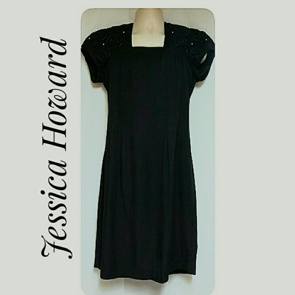 Jessica Howard Dresses & Skirts - Jessica Howard Professional Black Dress Size 10