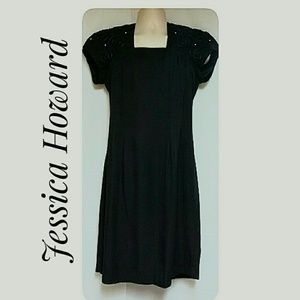 Jessica Howard Professional Black Dress Size 10