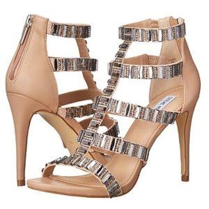 """Steve Madden Shoes - Steve Madden """"Famme"""" Jeweled Stiletto Heel."""