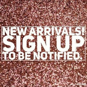 Brand New Arrivals! -Get the fresh looks first!