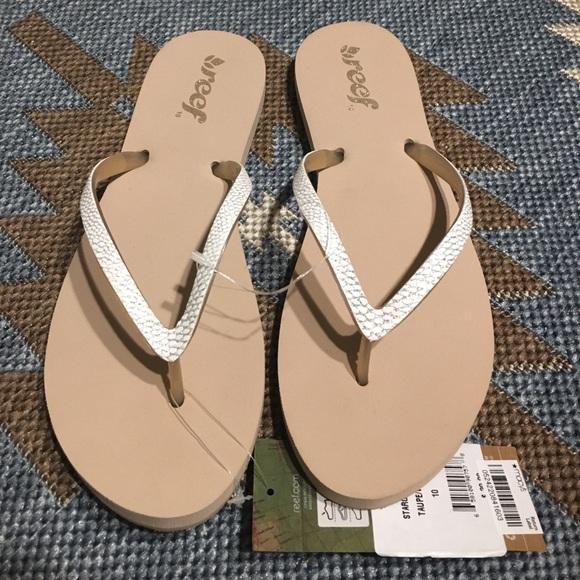 reef glitter sandals