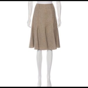 Akris Dresses & Skirts - AKRIS Tweed Wool Silk Blend Fully Lined Skirt
