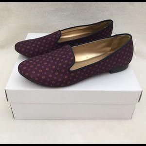 LOFT Shoes - NWOT LOFT purple red flats