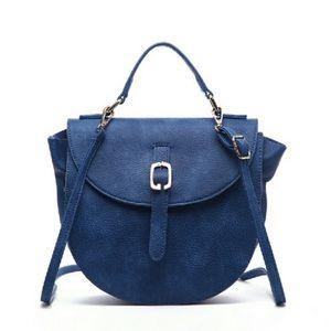 Pink Haley Handbags - Amena top handle crossbody bag in blue 💙💙💙