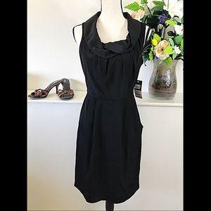 Donna Ricco Dresses & Skirts - NEW Black Drape Neck Sleeveless Cocktail Dress