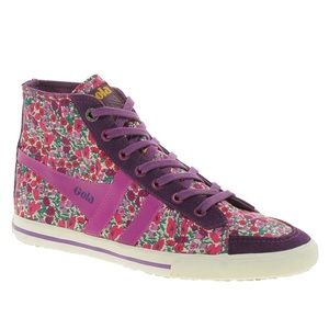 Gola Shoes - ASOS Gola Liberty Quota Petal High Top Sneakers