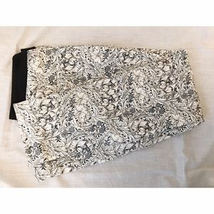 H&M William Morris floral patterned pants