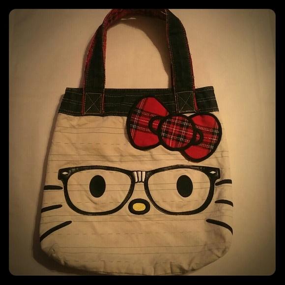 5d080a85e4 Hello Kitty Tote Bag - I Love Nerds. M 58f2e215f739bc659f0b014a
