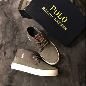 Polo by Ralph Lauren Other - 🎉HP 6/11🎉 Polo by Ralph Lauren suede sneakers