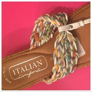 NWT Made in Italy Sandals