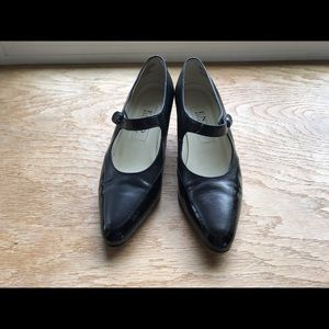 Enzo Angiolini Shoes - ENZO ANGIOLINI Black Patent/Leather Mary Janes