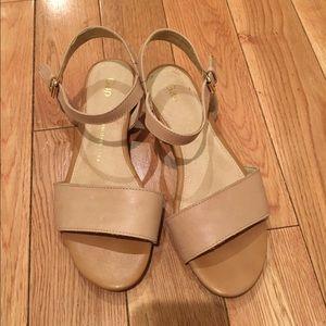 *SOLD* Gap beige strappy sandals