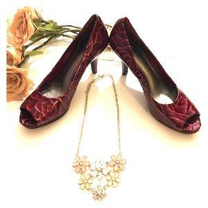 Alex Marie Shoes - Alex Marie 3 inch peep holes classy shoes 👠