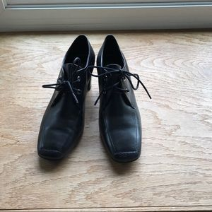 Rockport Shoes - ROCKPORT Black Leather Loefers