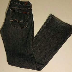 7 For All Mankind Denim - 7 for all mankind jeans size 27 great condition