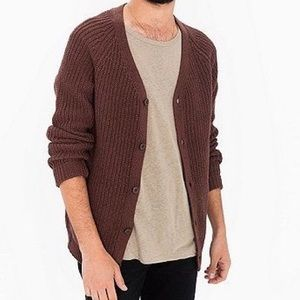 American Apparel Cotton Cardigan