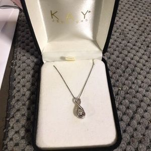 Kay Jewelers Jewelry - Floating diamond infinity necklace