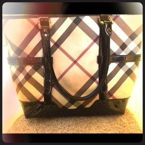 Burberry Handbags - Authentic Burberry Nova Check Bag