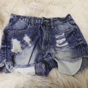 Mossimo Supply Co. Pants - High-waisted Denim Shorts