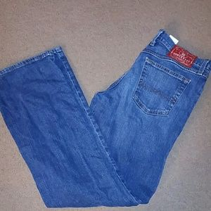 Lucky Brand women's size 10/30 midrise flare jeans