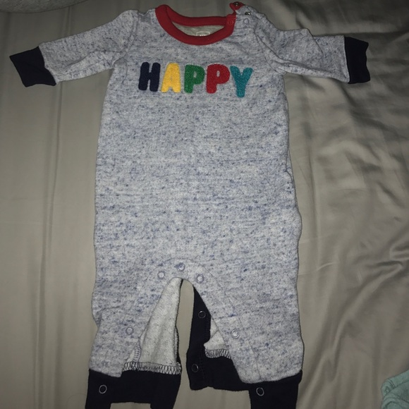 GAP One Pieces - Happy Footless Onesie