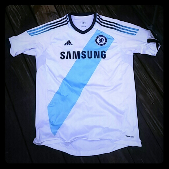 best website c96c0 da3d4 Adidas Samsung Chelsea Football Club Jersey SZ XL