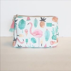 October Love Handbags - 🍹🌺🌴Perfect Tropical Pouch 🌴🌺🍹