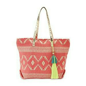 joe boxer Handbags - New ♡ Joe Boxer Women's Shopper Tote Bag - Tribal