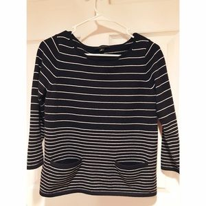 Ann Taylor Sweaters - Ann Taylor •  Striped Sweater