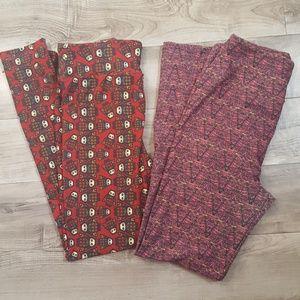 LuLaRoe Pants - 2 pair LuLaRoe leggings. Owls!